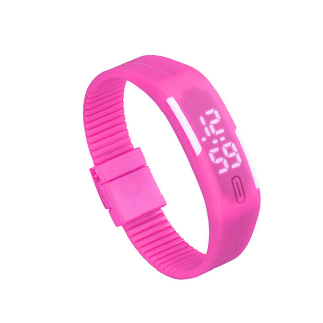 Women's Silicone Digital Led Sport Watch