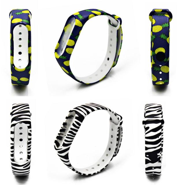 Various Silicone Wristband for Xiaomi Mi Band 2