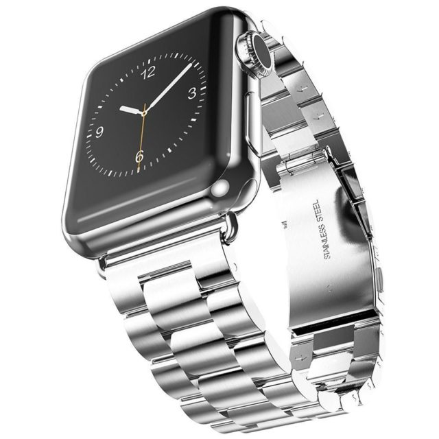 Elegant Stainless Steel Wristband for Apple Watch