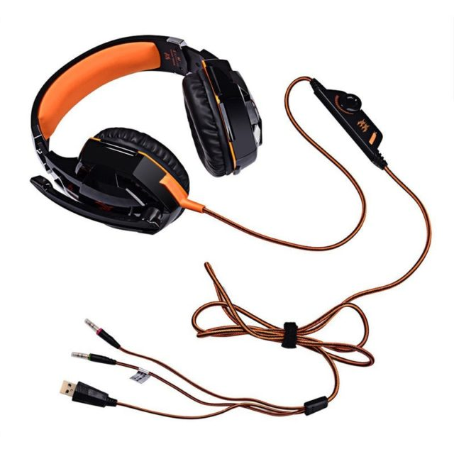 Stereo Gaming Headphones with Microphone
